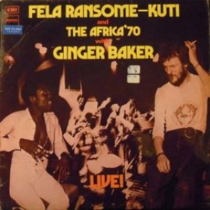 Kuti Fela | With Ginger Baker - Live!